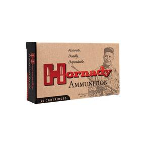 Hornady Custom Rifle Ammunition .338 Lapua 250 gr InterLock SP 2900 fps 20/ct