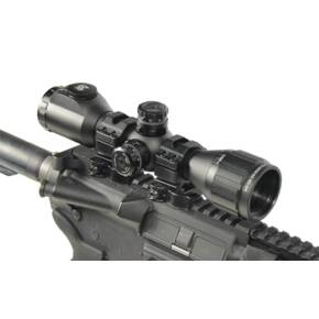 "Leapers UTG BugBuster Rifle Scope - 6x32mm 1"" Tube 36 Color Mil-Dot 20' FOV 3.5"" ER"