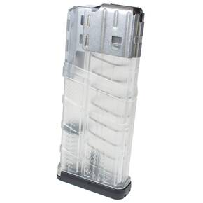 Lancer L7 Advanced Warfighter Rifle Poly Magazine 7.62mm/.308 Win 25/rd Transparent Clear