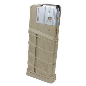 Lancer L7 Advanced Warfighter Rifle Poly Magazine 7.62mm/.308 Win 25/rd Opaque DE