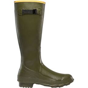 LaCrosse Grange Non-Insulated Rubber Hunting Boots - Olive Drab Green