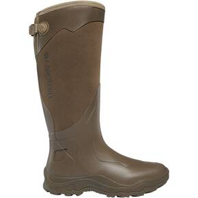 "LaCrosse Alpha Agility 17"" Brown Boots"