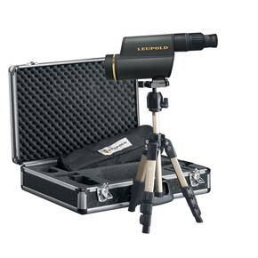 BLEMISHED Leupold GR 12-40x60mm HD Spotting Scope Kit Shadow Gray