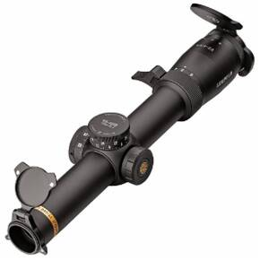 Leupold VX-6HD Rifle Scope - 1-6x24 (30mm) CDS-ZL2 Metric Illum. FireDot 4 Fine Black Matte