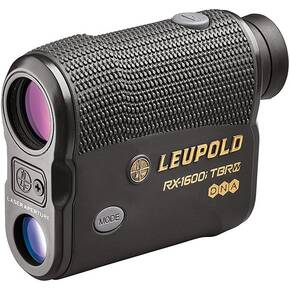 Leupold RX-1600i TBR/W with DNA Laser Rangefinder - 6x OLED Selectable Gray/Black Armor Finish