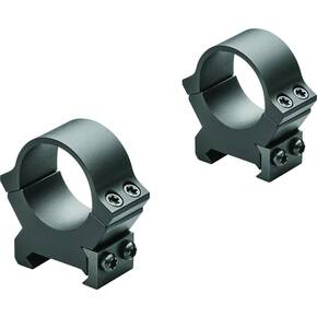 Leupold 2-Piece Precision-Fit PRW2 Weaver-Style Permanent Rings 30mm Medium - Matte Black