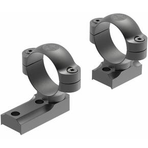 Leupold Turn-In Dual Dovetail Base with Rings Combo Tikka T3 T3x 30mm Medium - Matte