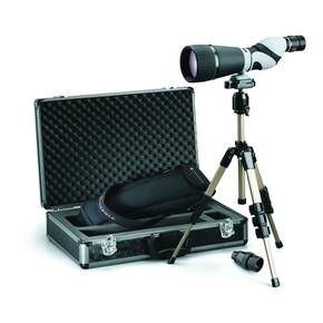 REFURBISHED Leupold SX-2 Kenai 25-60x80mm HD Spotting Scope Kit with 30x Eyepiece, NO CASE included
