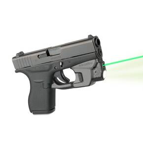 LaserMax CenterFire Light & Laser w/GripSense for Glock 42/43 - Green