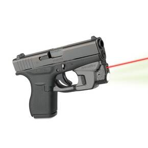 LaxerMax CenterFire Light & Laser with GripSense for Glock 42/43 - Red