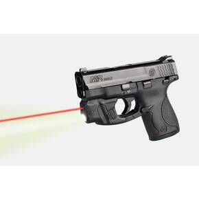 LaserMax CenterFire Light & Laser w/GripSense for S&W Shield 9mm .40 cal Red