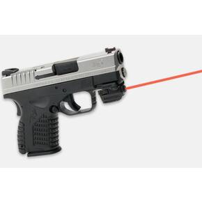 "LaserMax Micro II Rail Mounted Laser - Fits 3/4"" Length Rail & Up - Red Laser"