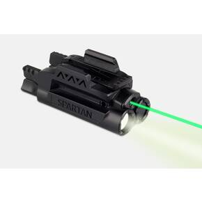 LaserMax Spartan Adjustable Fit Laser/Light Combo - Green