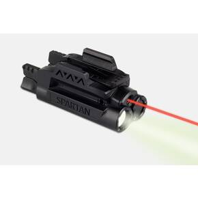 LaserMax Spartan Adjustable Fit Laser/Light Combo - Red
