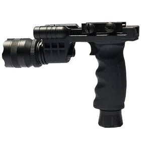 Osprey Battlegrip Tactical Vertical Grip with Integrated Laser and Flashlight - Green Laser