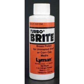 Lyman Turbo Brite Brass Polish 5 oz