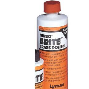 Lyman Turbo Brite Brass Polish - 16 oz