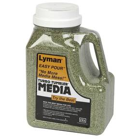 Lyman Corncob Media Green With Easy Pour Handle 6 lbs.