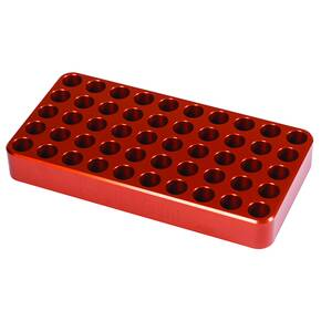 "Lyman Anodized Aluminum Loading Block .485"" Hole Size"