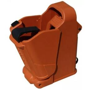 Maglula UpLULA Universal Pistol Mag Loader/Unloader 9mm TO .45 cal - Orange Brown