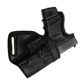 Tagua Middle of the Back Holster S&W M&P Compact Black/Right Hand