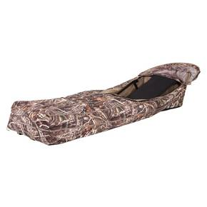 Ameristep Duck Commander Run Way Layout Blind - RealTree Max-4 Camo