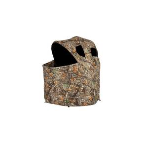 Ameristep 2-Person Deluxe Tent Chair Blind - Realtree Edge