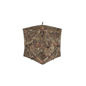 Ameristep Silent 3-Person Brickhouse Blind - Realtree Edge