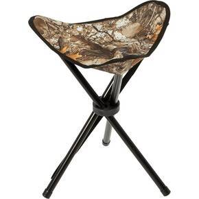 Ameristep Tripod Stool Realtree Edge with Carry Bag/Strap - Realtree Edge