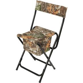 Ameristep High-Back Chair with Carry Bag/Hand Strap - Realtree Edge
