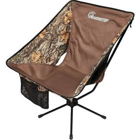 Ameristep Tellus Chair with Carry Bag & Caribiner - Realtree Edge