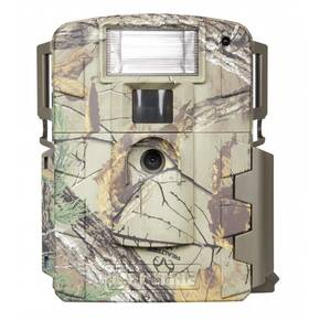 Moultrie White Flash Game Camera with White Xenon Strobe Flash - 14MP, Realtree Xtra