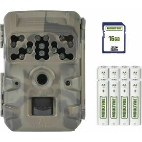 Moultrie D-300 Trail Camera Bundle Includes 16GB SD Card / 8pk AA Batteries - 14MP