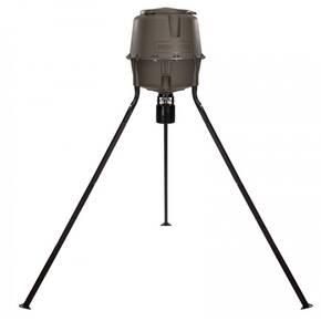 Moultrie 30-Gallon Deer Feeder Elite, Adjustable Legs