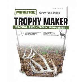 Moultrie Trophy Maker Deer Mineral & Vitamin Supplement Granular 4/lb Bag