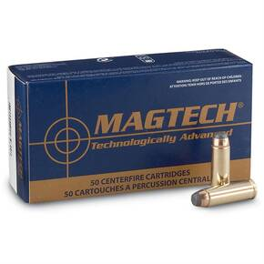 MagTech Handgun Ammunition .357 Mag 158 gr SJHP 1235 fps 50/Box