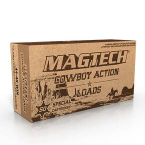 Magtech Cowboy Action Ammunition .44-40 Win. 225gr LFN 755 fps 50/ct