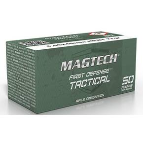 Magtech First Defense Rifle Ammunition 5.56mm 77gr HPBT 2790 fps 50/ct