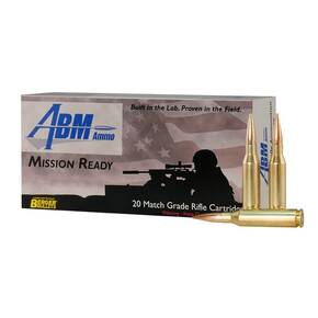 ABM Misson Ready Berger Rifle Ammunition .260 REM 130 gr OTM 2847 fps 20/ct
