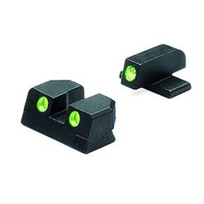 Meprolight Springfield XD Night Sights - .45 Full Size Green Front & Rear