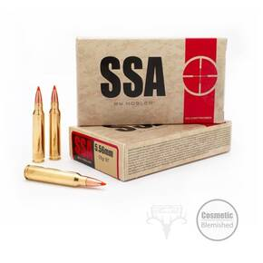 SSA Rifle Ammunition 5.56mm 55 gr Frangible 20/ct