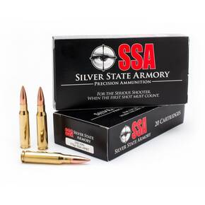 SSA Rifle Ammunition 308 Win 175 gr HPBT 20/ct