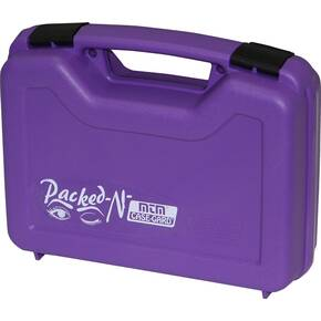 "MTM Case-Gard Single 4"" Handgun Case - Purple"