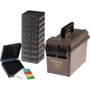 MTM AC50 9mm Ammo Can with 10-P1009