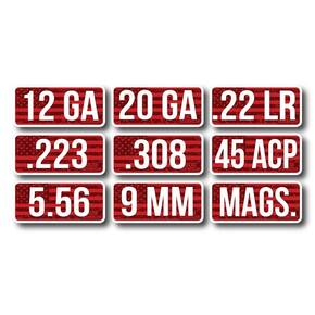 MTM Ammo Caliber Labels 22 LR - 8/ct