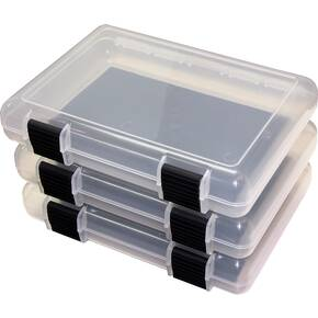 "MTM In-Safe Storage Case 9"" Clear - 3/ct"