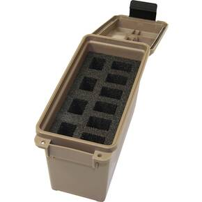 MTM Tactical FDE Magazine Can for Handguns