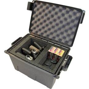 MTM Tactical Pistol Case - 4 Gun Grey