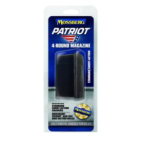 Mossberg Patriot Bolt Action Centerfire Magazine Magnum SA Fits .270 WSM, .300 WSM. Fits Mossberg Patriot & 4X4 rifles.