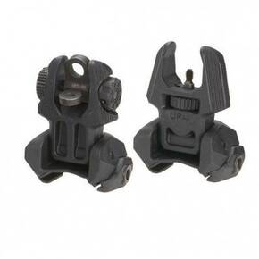 The Mako Group Front & Black Flip-up Sights - Black